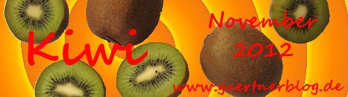 Garten-Koch-Event November: Kiwi [30.11.2012]