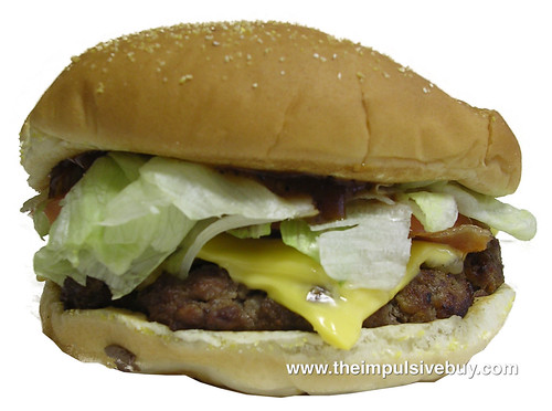 Burger King Angus Bacon & Cheese Steak Burger