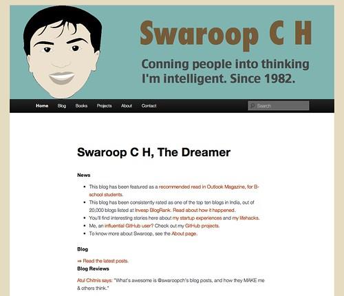 My mutated new WordPress theme