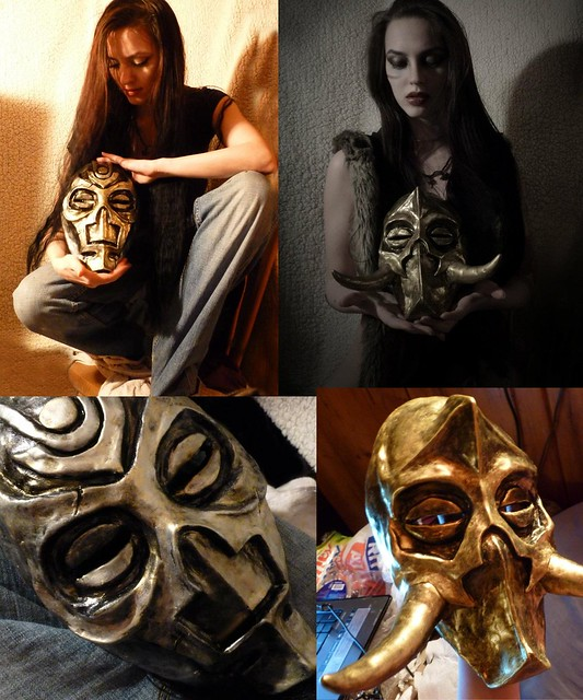 Nicci Fett's Dragon Priest mask