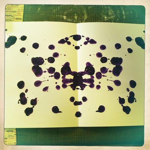 making Rorschach blots