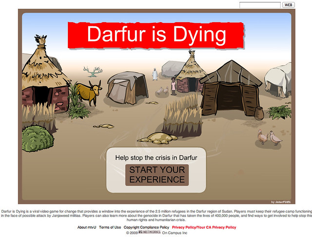 Darfur is Dying - Start