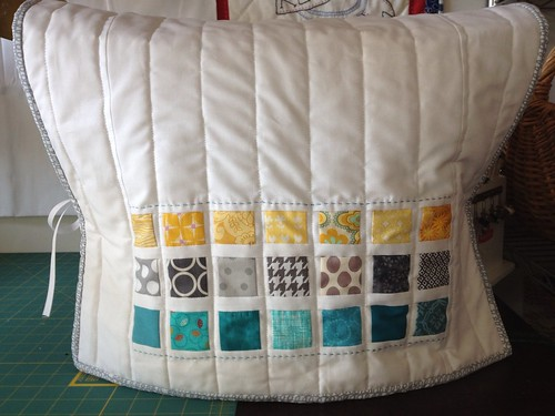 Modern Sewing Machine Cover Front