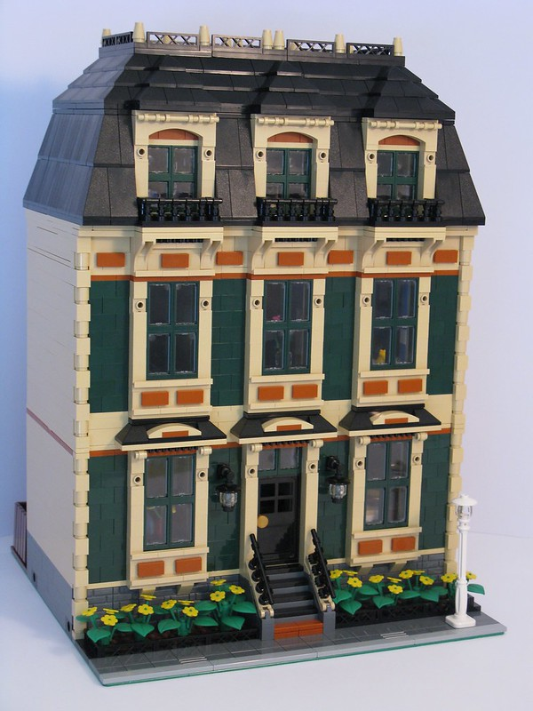 Tan Townhouse
