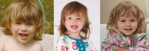Me vs Hannah vs Abbie 2 years old