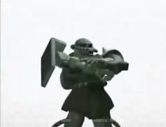 Zaku Gundam Style Music Video  Screencaps (5)