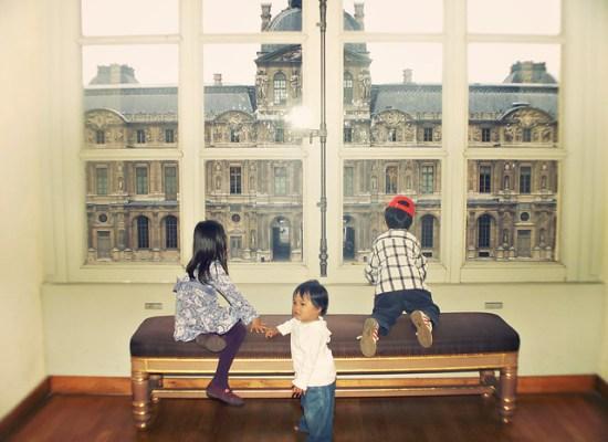 window louvre museum