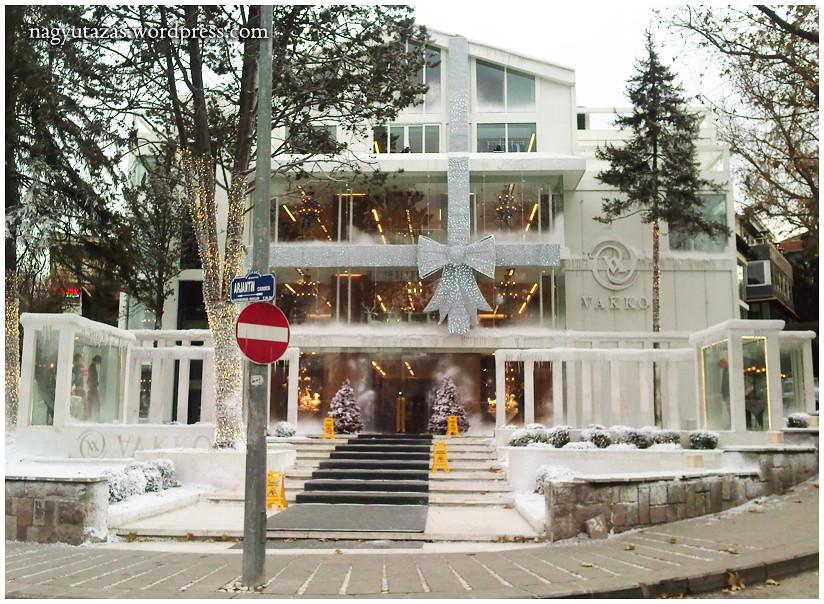 Kék karácsony Törökországban 2011