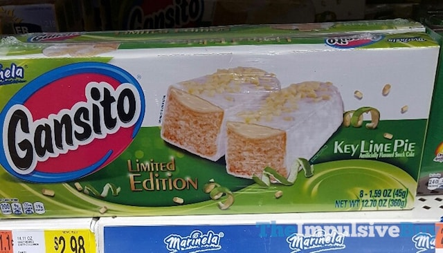Marinela Limited Edition Key Lime Pie Gansito