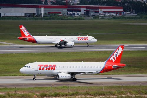 TAM | Airbus A320 & Airbus A321 @ SBGR
