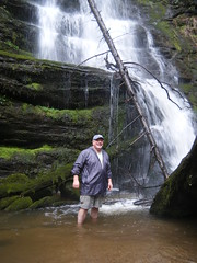 Stephen at Wright Creek Falls