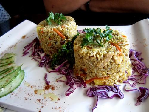 EnjoyCafe nyonya fried rice