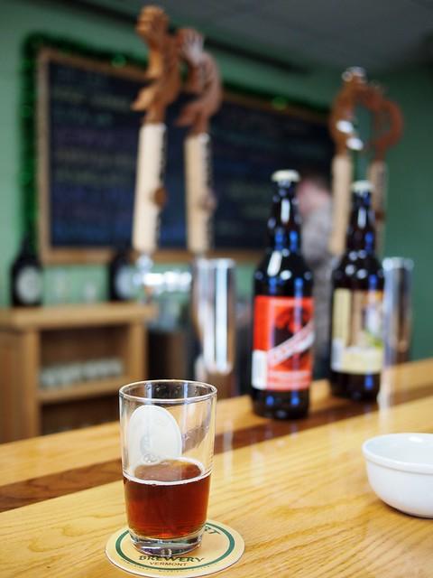 Tasting Beer @ Rock Art Brewery