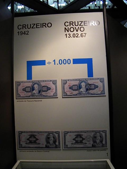 Conversão Monetária — Cruzeiro para Cruzeiro Novo