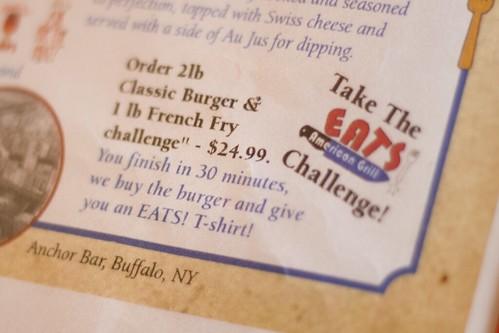 eats challenge