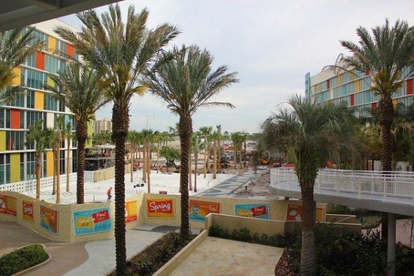 Cabana Bay Beach Resort Construction