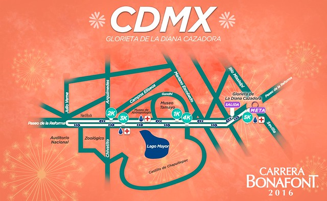 carrera bonafont ruta df cdmx
