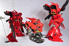 Formania Sazabi Bust Display Figure Unboxing Review Photos (73)