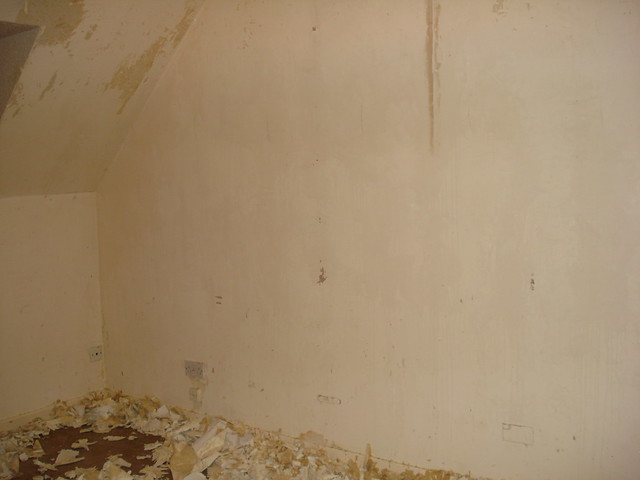 Bedroom 003 - One wall done