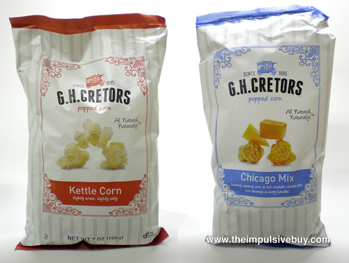 GH Cretors Kettle Corn and Chicago Mix