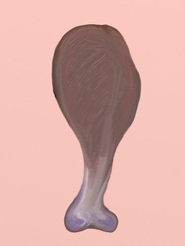ArtRage:  my maira kalman drumstick by jmignault