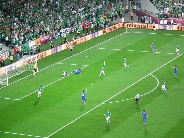 Ireland V. Croatia in Poznan, Poland