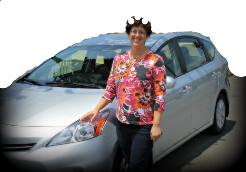 Suebob and a prius