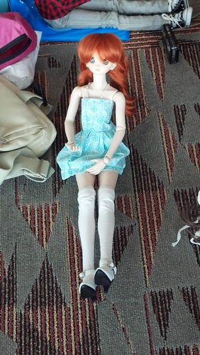 A Cute Volks Dollfie Dream Doll