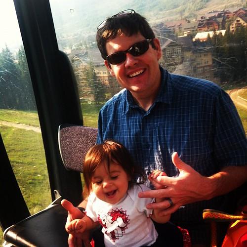 My first gondola ride