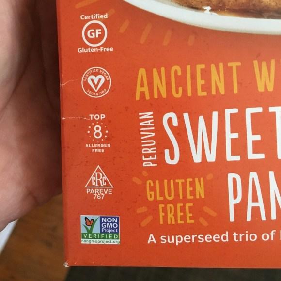 Gluten Free Certified Vegan Top 8 Allergen Free Pareve Non GMO