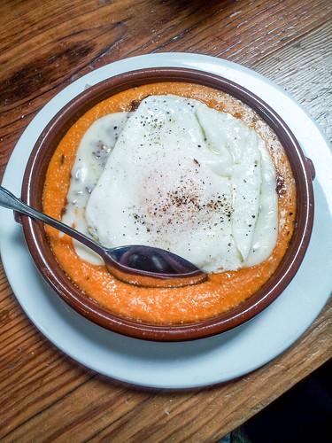 polenta and egg