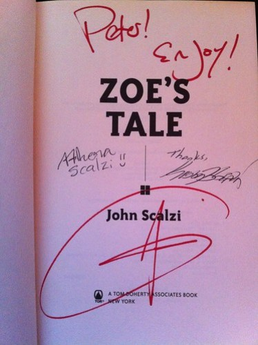 Autographed Zoe's Tale