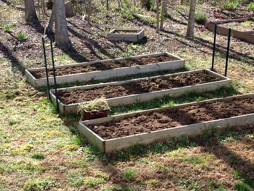 Spring Cleaning in the Carolina Victory Garden