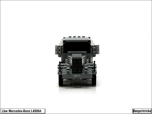 Camión Mercedes-Benz L4500A