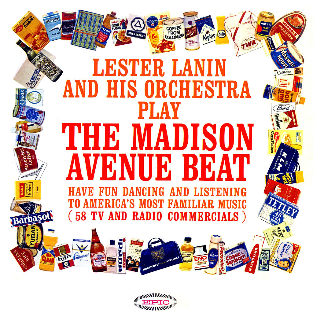 Lester Lanin - The Madison Avenue Beat
