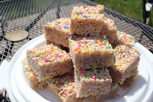 bday cake treats