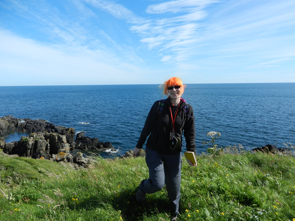 Me at the Highland Boundary Fault