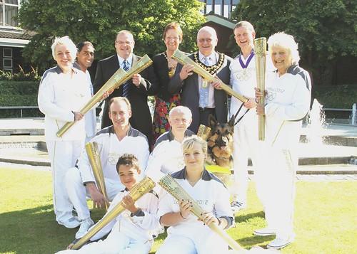 Meeting Sandwell's Olympic Torchbearers by MayorofSandwell