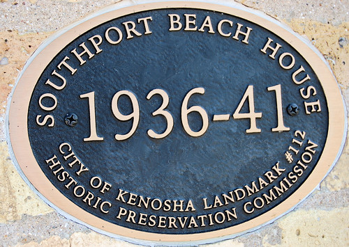 Historic Preservation Society plaque