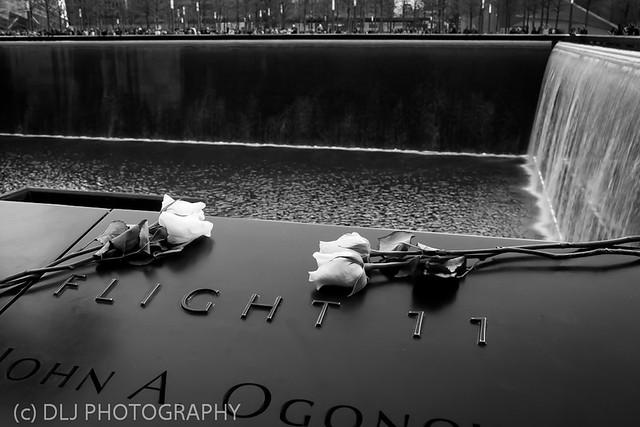 9/11 Memorial B&W