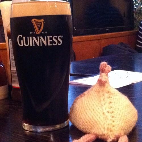 Ah a lovely pint of Guinness...