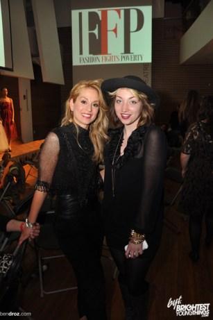 Violetta Markelou, Nadia Tulin, 2012-03-31 Fashion Fights Poverty at Artisphere 502