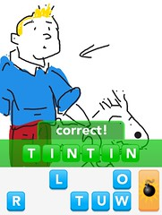 TINTIN, Draw Something App