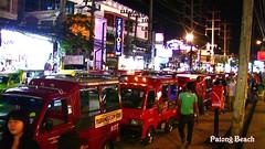 THAILAND, Phuket - Patong, Nachtleben  - Tuk-Tuk en masse , 72