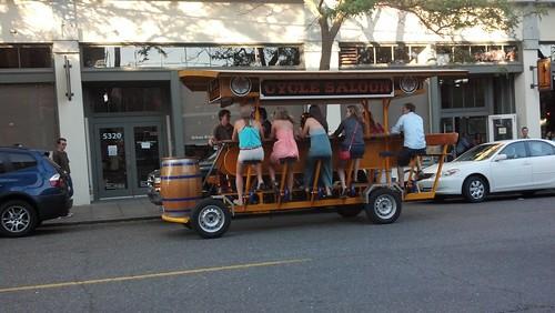 Cycle Saloon by skibradshaw