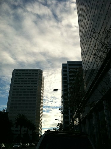 Sky business district Oakland