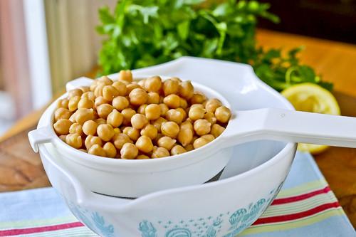 Hummus with Parmesan Herb Pita Chips 16