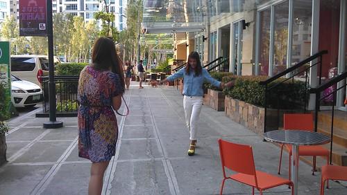 Reg & Aisa outtake outfitey shoot at Burgos Circle