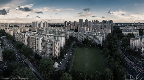 Ang Mo Kio Estate by SkyStrike