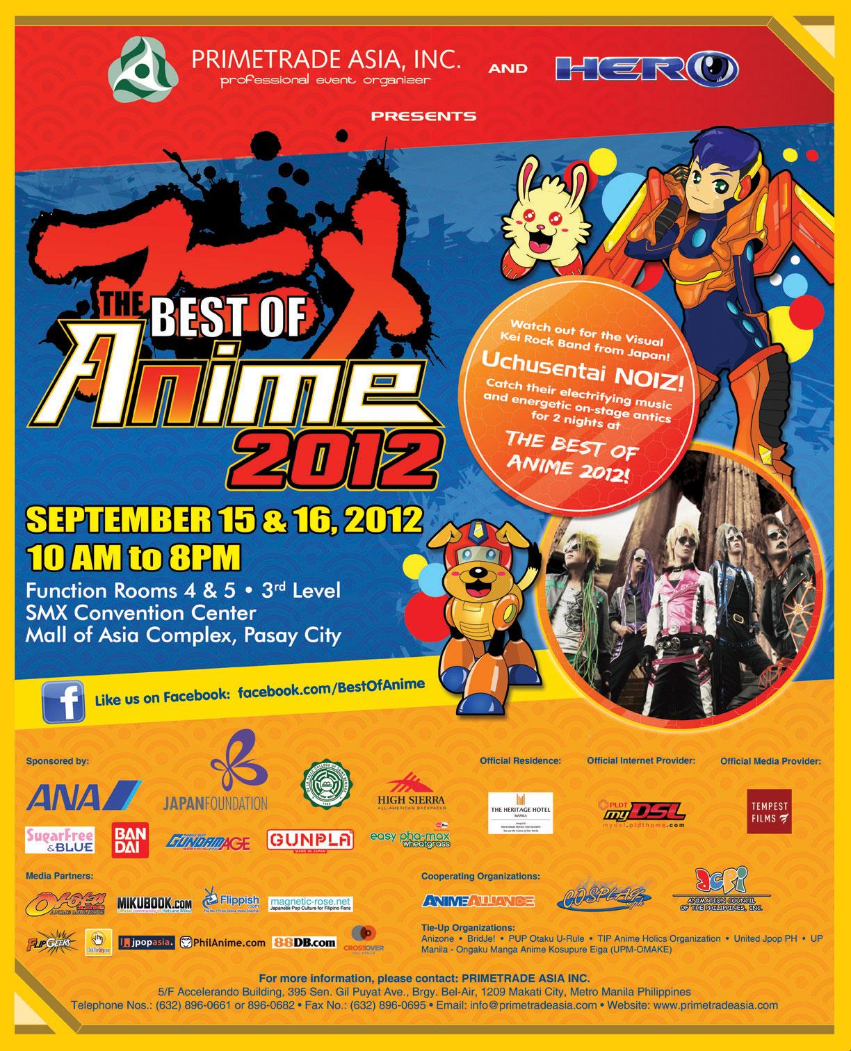 Best of Anime 2012